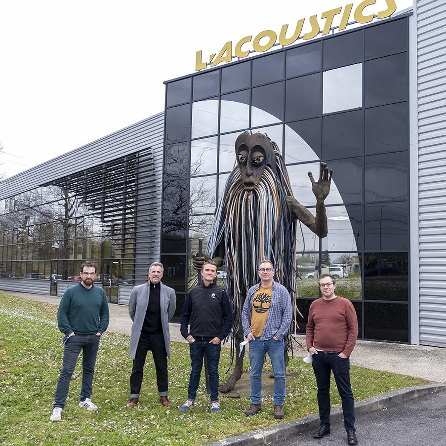 Équipe L-Acoustics Ubitech